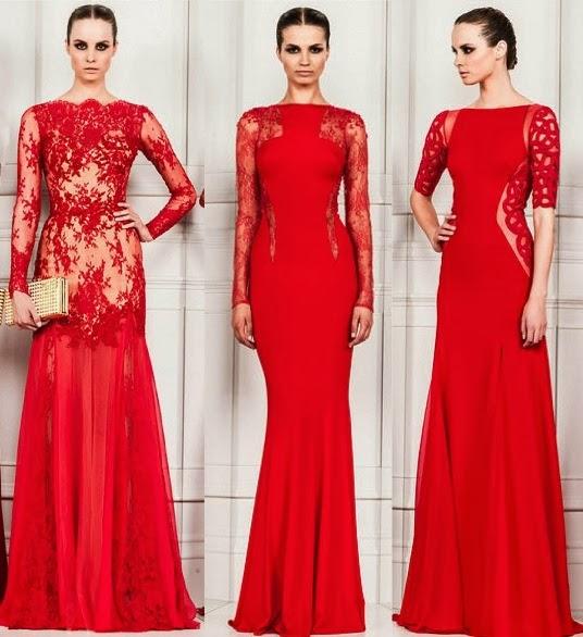 Lindos vestidos de festa vermelho