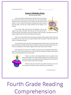 math worksheet : fourth grade reading comprehension worksheets have fun teaching  : Have Fun Teaching Math Worksheets