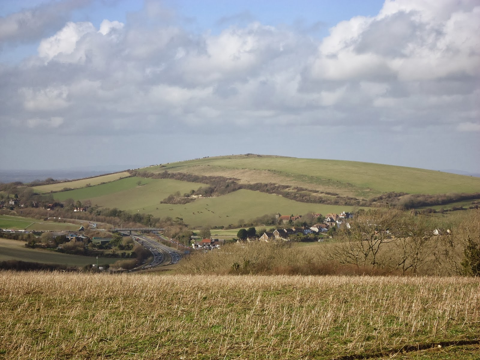 Clayton Hill and Pyecombe