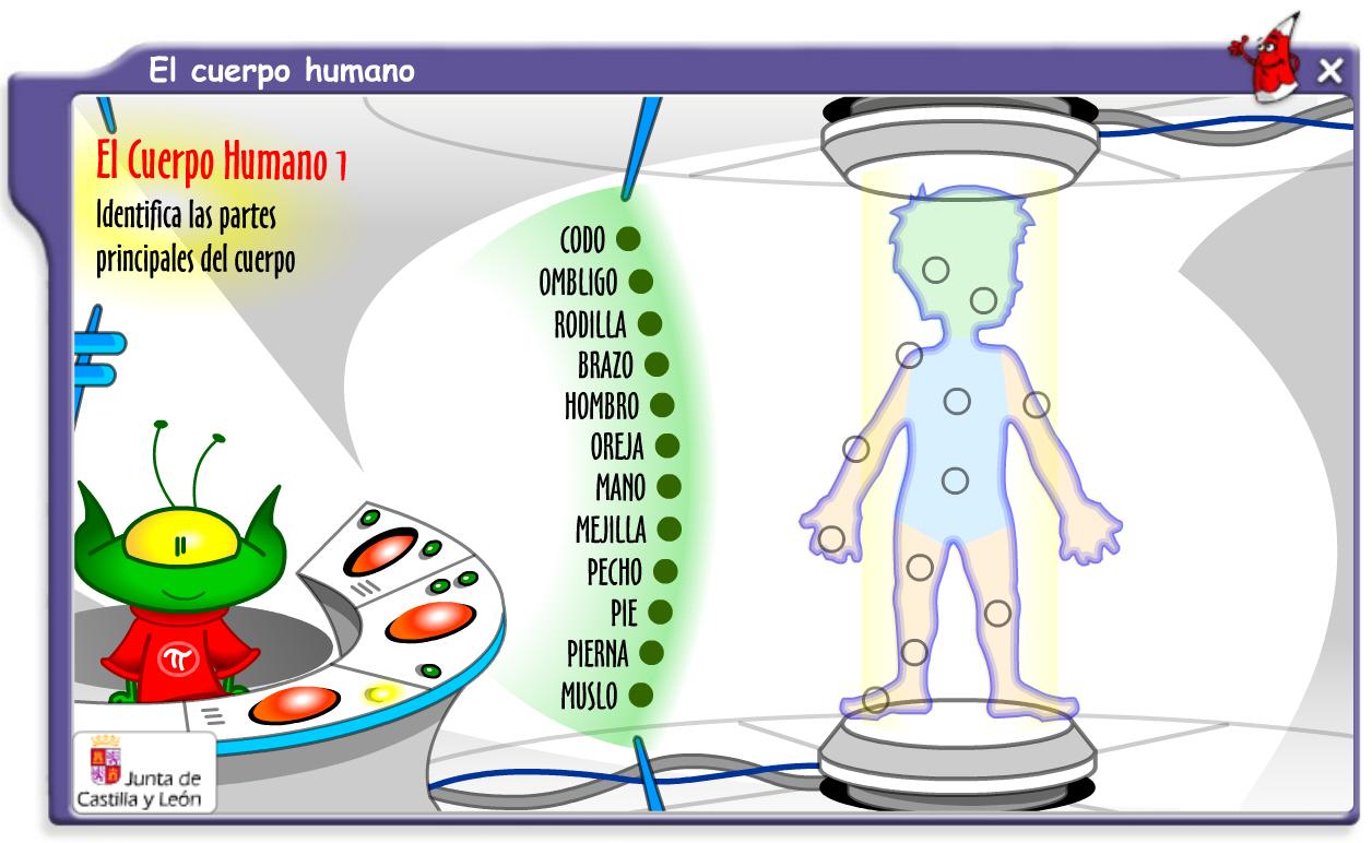 PIZARRA DIGITAL INTERACTIVA: EL CUERPO HUMANO