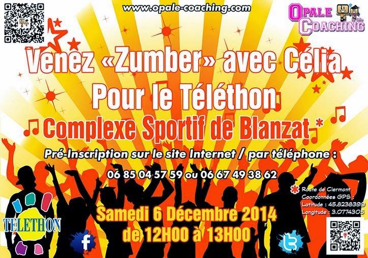 Téléthon 2014: Blanzat, 63