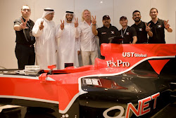 QNET sponsor tim virgin racing balap mobil F1