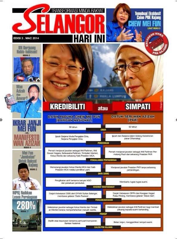 #PRKKajang #PRKN25Kajang : Nilailah Sendiri Wahai Rakyat 4