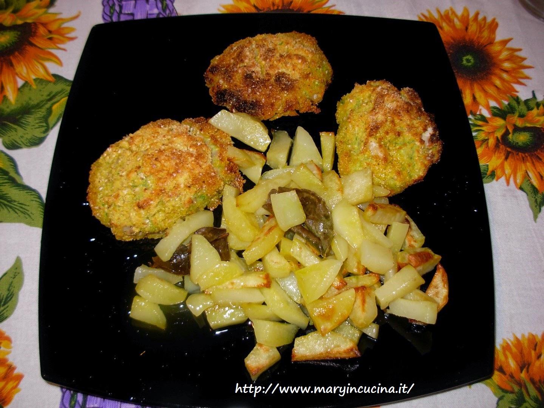 schiacciatine di zucchine e fagioli
