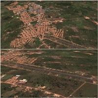 Vista aérea de PD & aeroporto