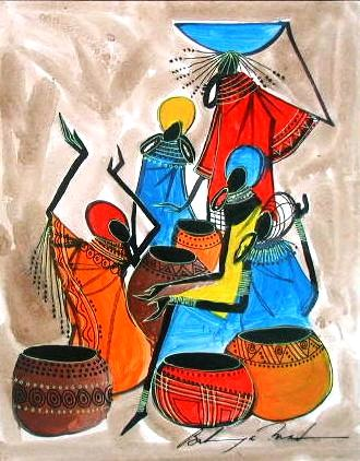 African paintings arts drawings african crafts picture for African arts and crafts