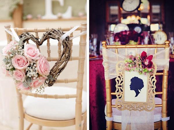 ¿Dónde alquilar sillas bonitas para bodas originales?