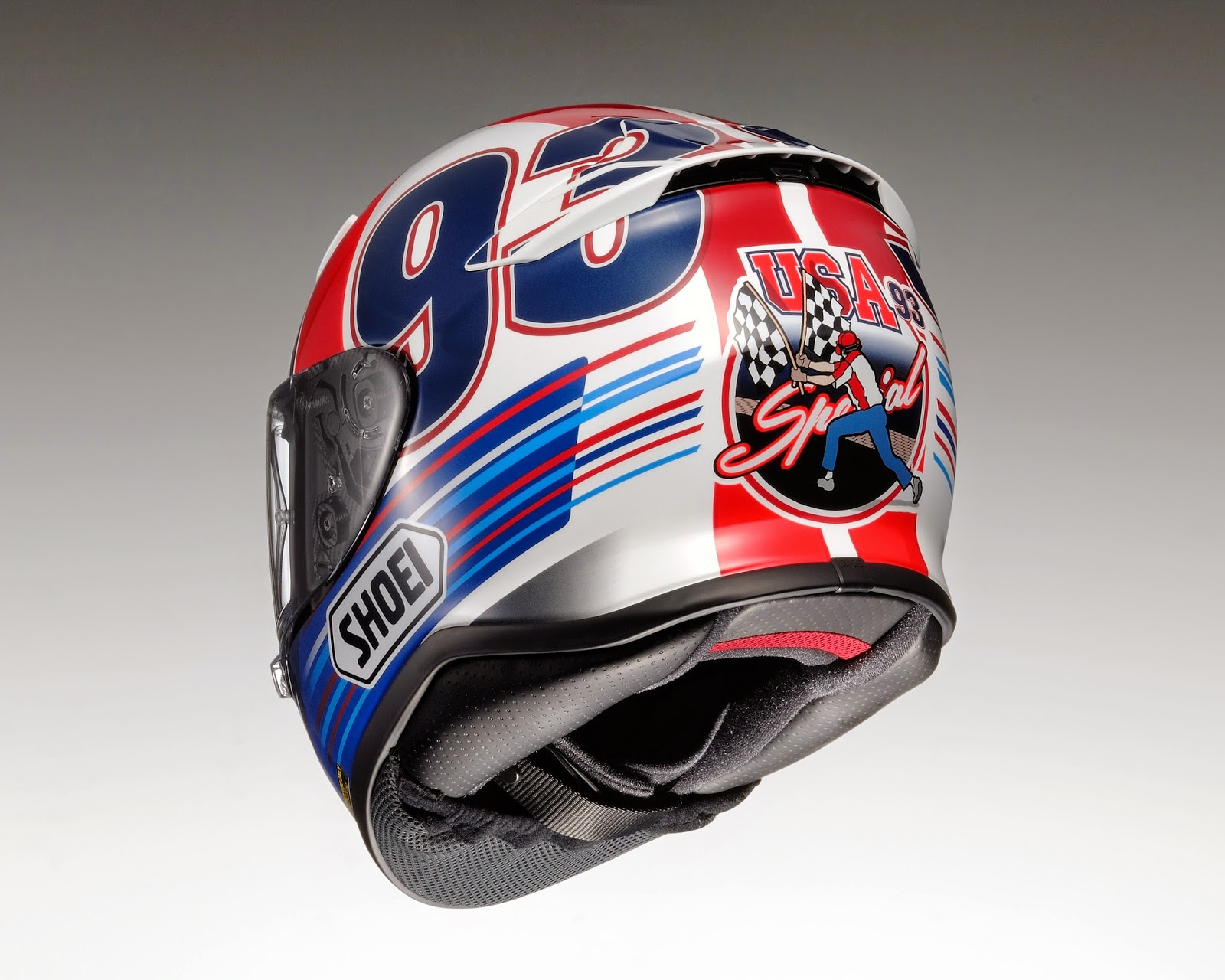 champion helmets new 2015 shoei marc marquez helmets. Black Bedroom Furniture Sets. Home Design Ideas