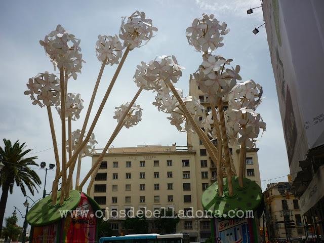 Portada Calle Larios Feria Málaga
