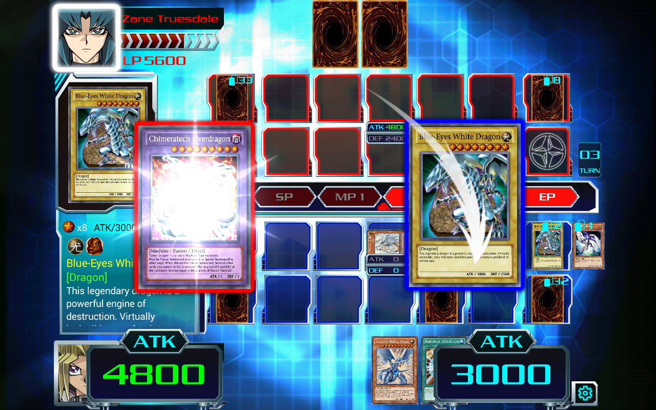 Yu-Gi-Oh! Duel Generation Gameplay