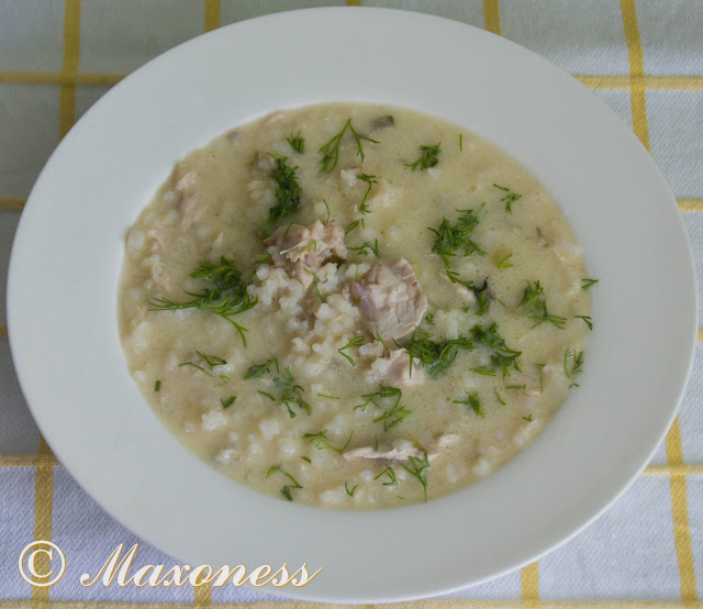 Суп авголемоно. Греческая кухня
