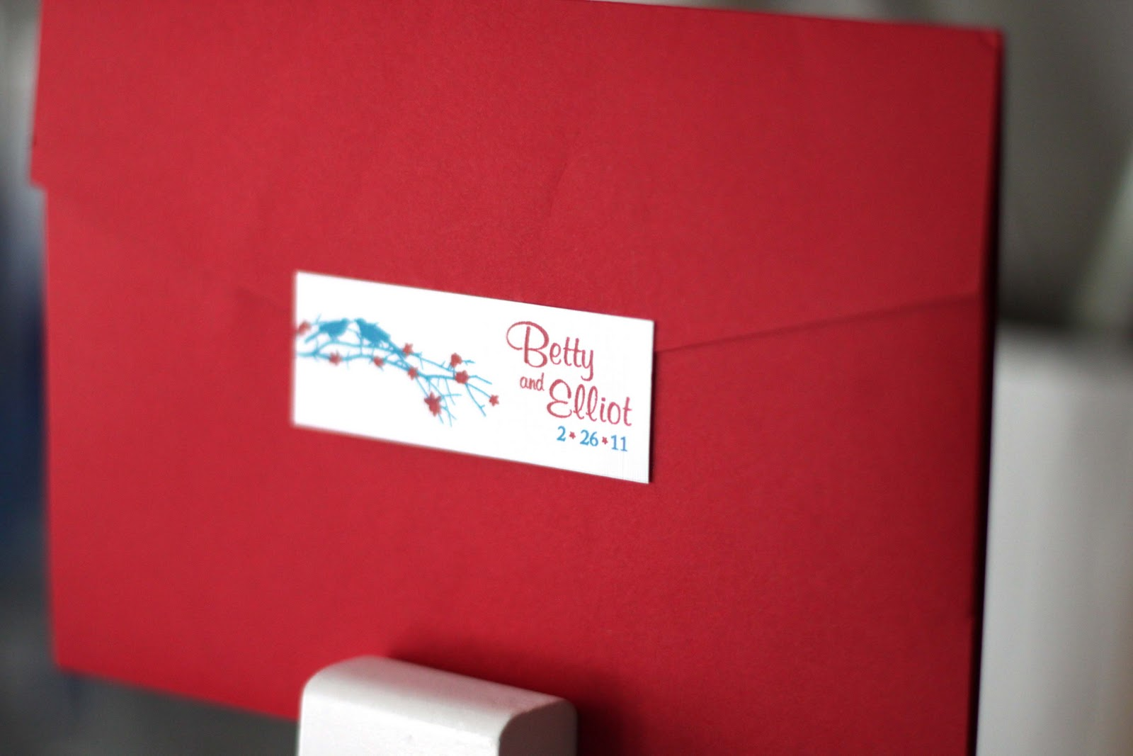 Tawny Doan Art and Design Blog: Wedding Invitation Design: Betty + ...