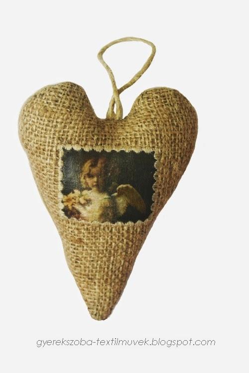 Gyerek párna, tároló, dekoráció textilből: Rusztikus dekoráció - Country, loft, vintage ...