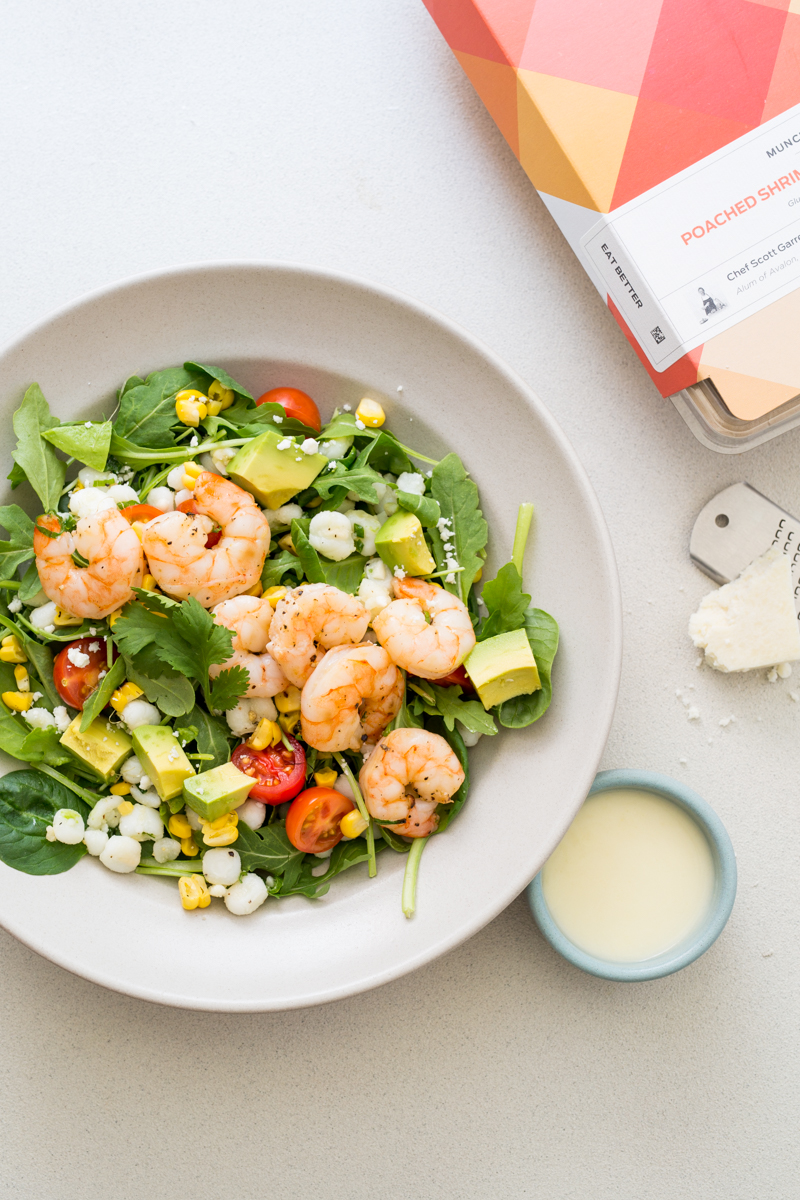 Shrimp Hominy Salad / blog.jchongstudio.com