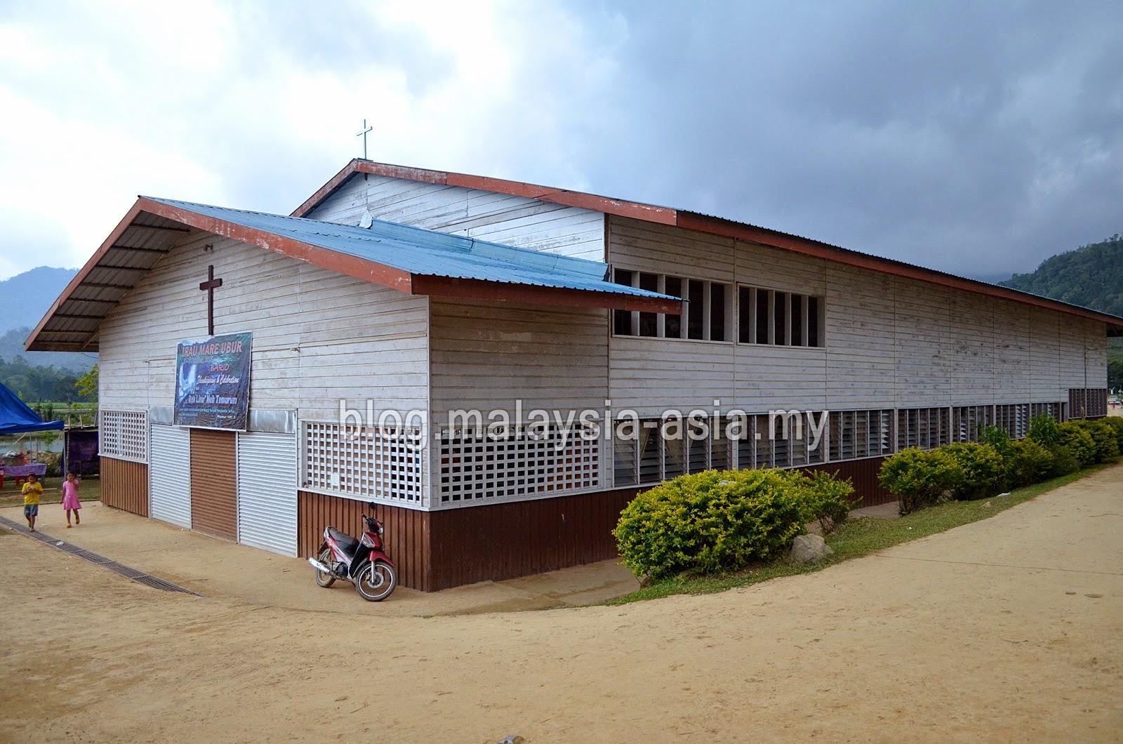 Church in Bario