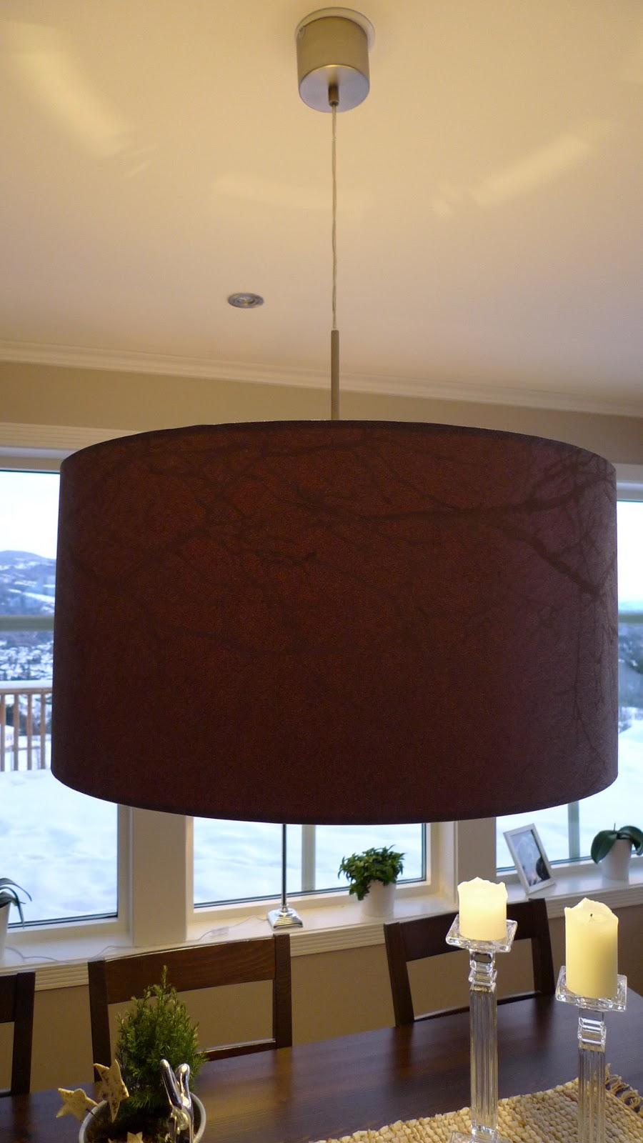 maleriet fargehandel re design av lampe fra ikea. Black Bedroom Furniture Sets. Home Design Ideas