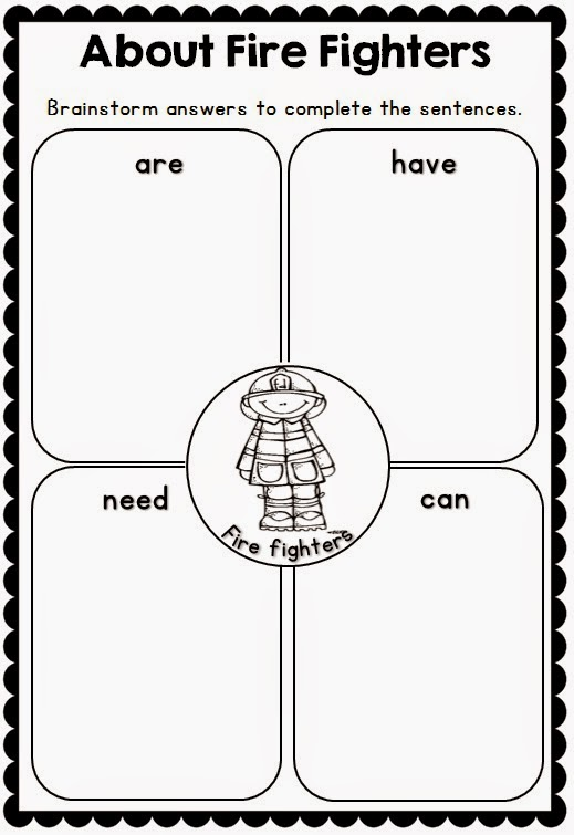 Fire Safety Printables and Support Resources Clever Classroom Blog – Kindergarten Fire Safety Worksheets