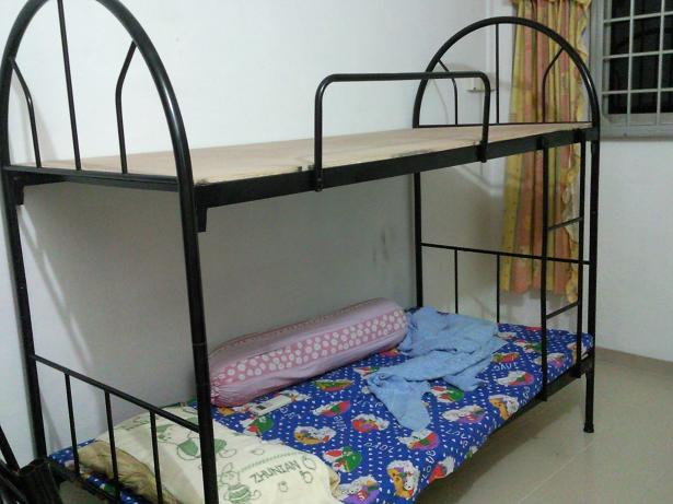 Sg 2nd hand sale home garage sale garage sale at jurong west blk 515 - Double decker bed ...
