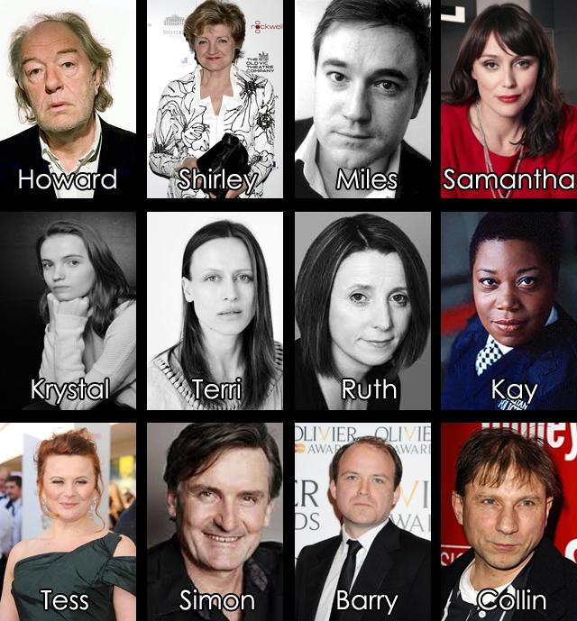 Definido elenco da minissérie baseada no livro Morte Súbida de JK Rowling