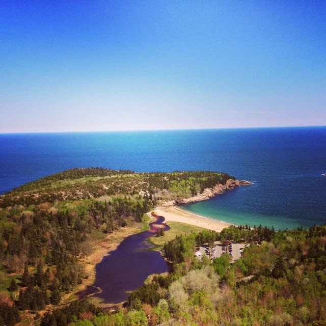 Acadia National Park, hiking in Maine, Maine national park, forests and mountains in Maine