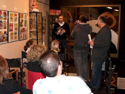 Presentación en la Librería Oroel de Jaca