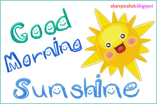good morning images for kids