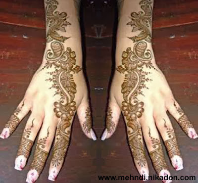 Indian Mehndi Beautiful Designs