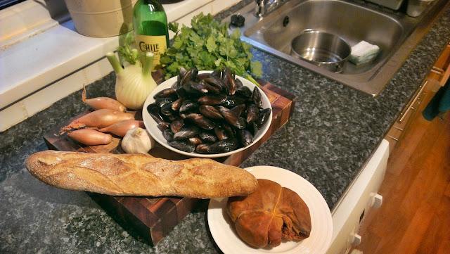Mussels n'duja recipe