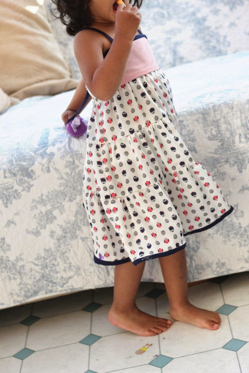 frock free pattern with straps