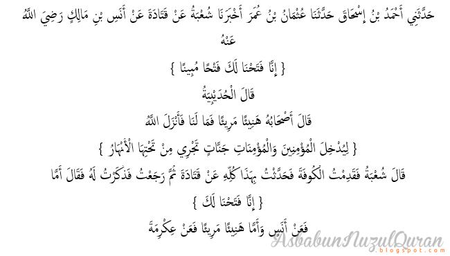 qur'an surat al fath ayat 1