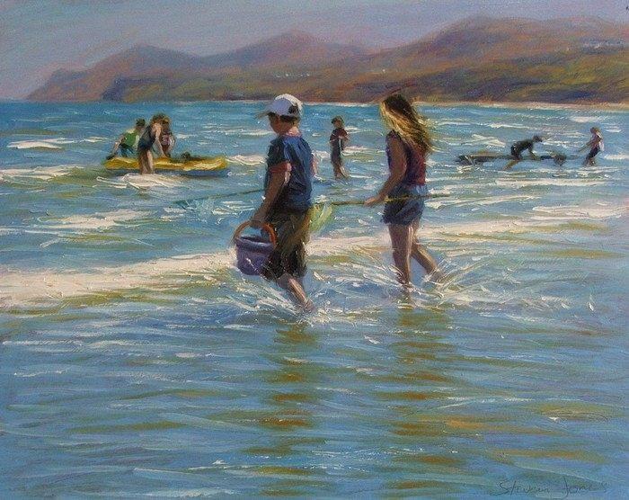 Британский художник. Steven Jones