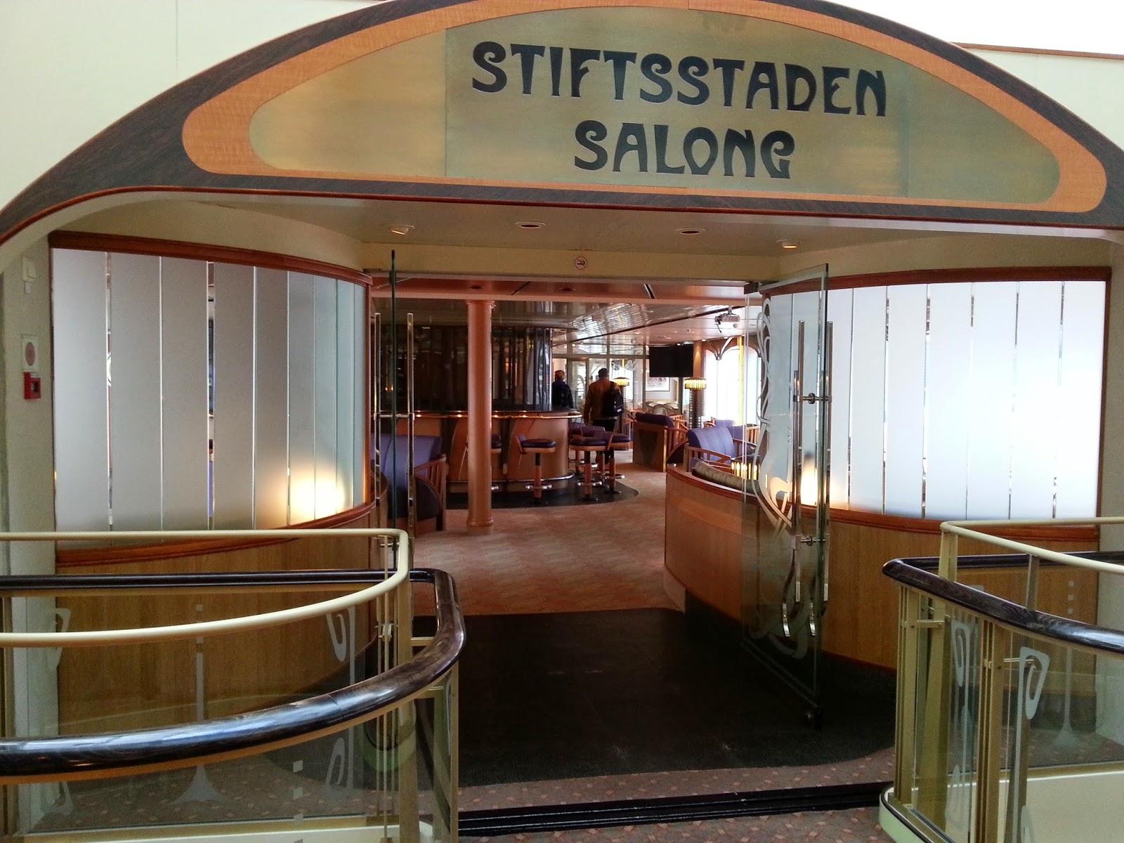 Hurtigruten MS Finnmarken - Stiftsstaden Salong
