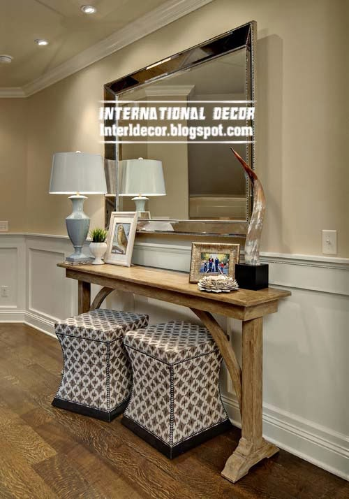 Ottoman and banquette for dressing table