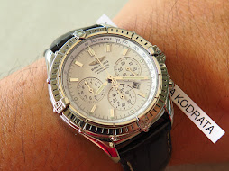 BREITLING CHRONOMETRE CHRONOGRAPH FLYBACK - WHITE DIAL - AUTOMATIC
