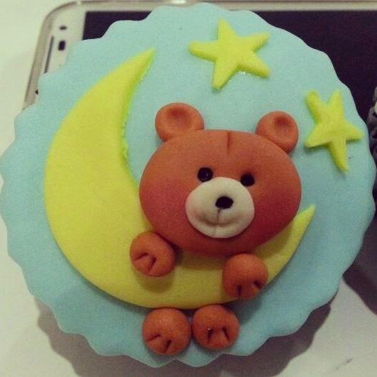 ayıcıklı cupcake