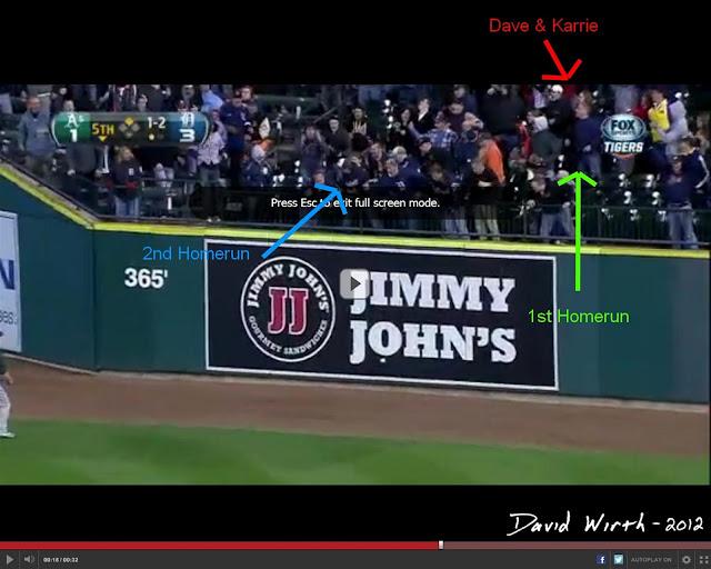 detroit tigers cabrera homerun fielder miguel prince right field game