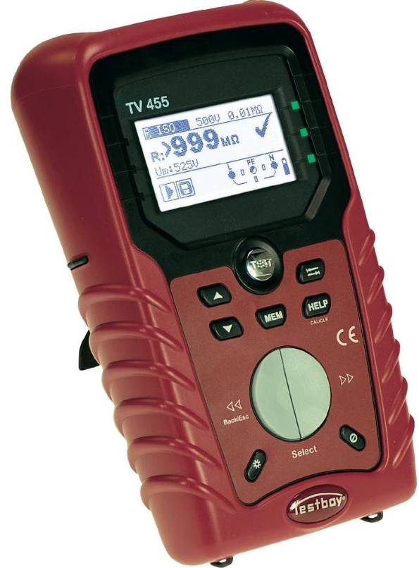 Το όργανο Testboy TV455