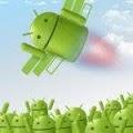 Seu Android com um foguete.