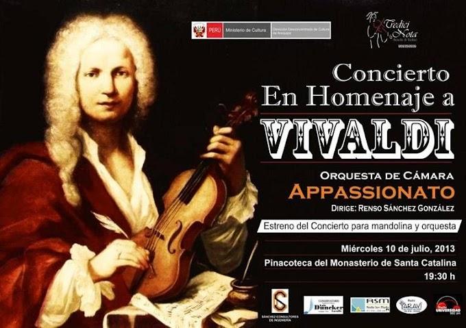 Concierto Homenaje a Vivaldi (10 julio)