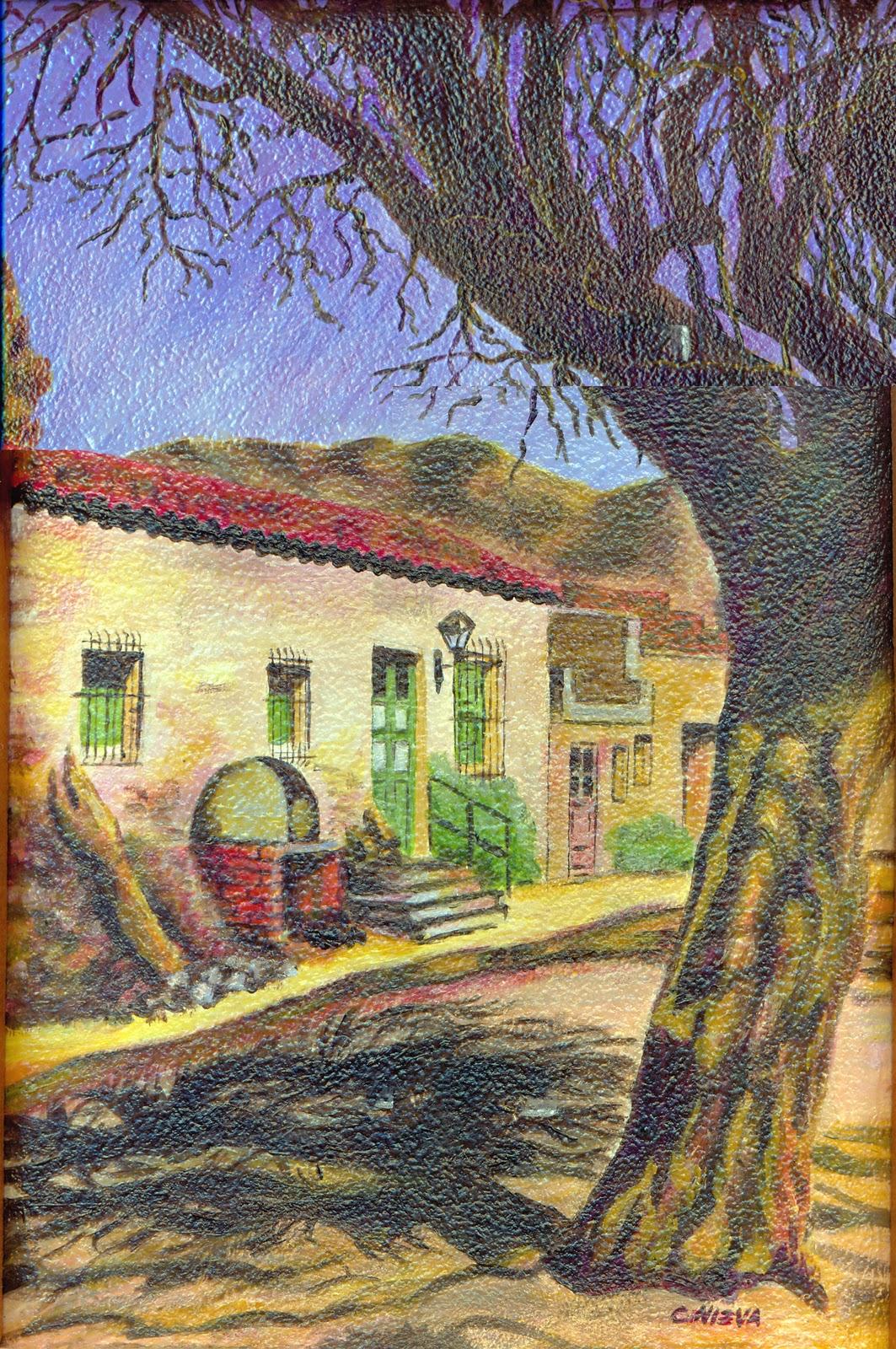 Fanaticomics pinturas for Pinturas para casas de campo