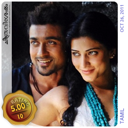 7aum Arivu: A film by A.R. Murugadoss starring Suriya, Shruti Haasan, Johny Tri Nguyen etc. Film Review by Haree for Chithravishesham