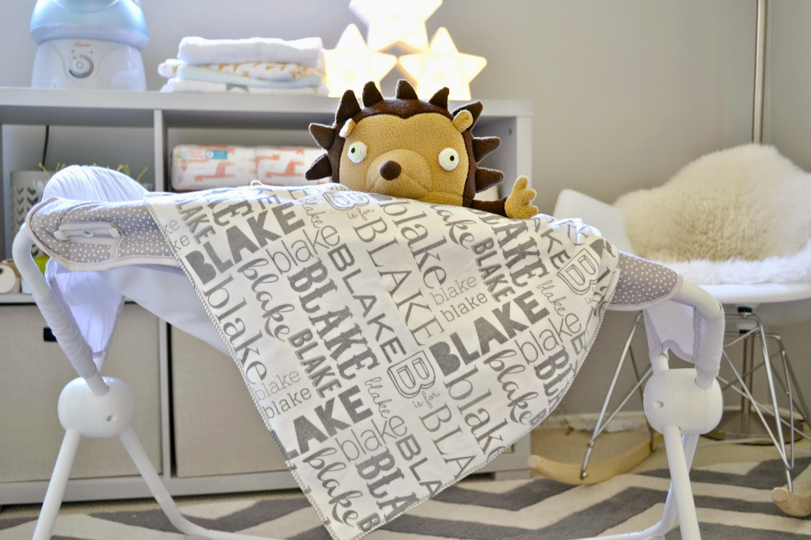 Mommy testers the cutest personalized baby blankets atkinson mommy testers personalized swaddle blanket custom swaddle blanket modern personalized baby blanket negle Choice Image