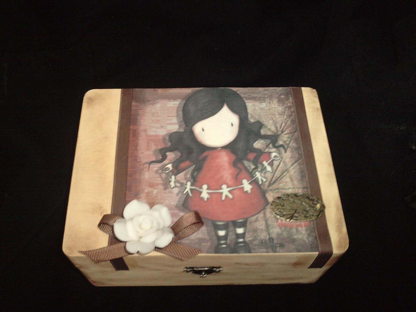 Artesania mydina cajas de madera decoradas for Decoracion de cajas