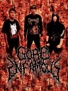 Gore Infamous band Brutal Death Metal Bandung Foto Logo Image wallpaper