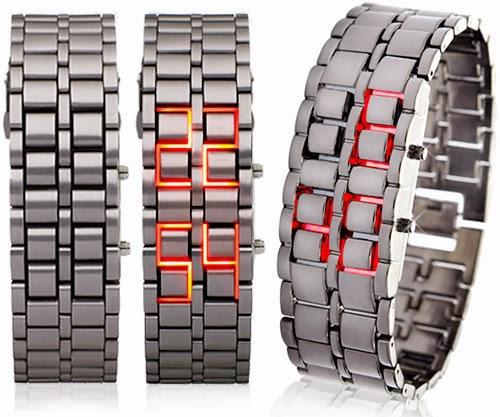 Jam Iron samurai tokyo Flashmodel jam tangan pria populer trendy ngetrend tahun ini 2014