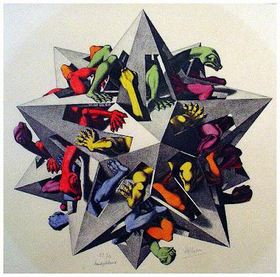 M.C.Escher 14 di Joseph Campbell Photography on Flickr