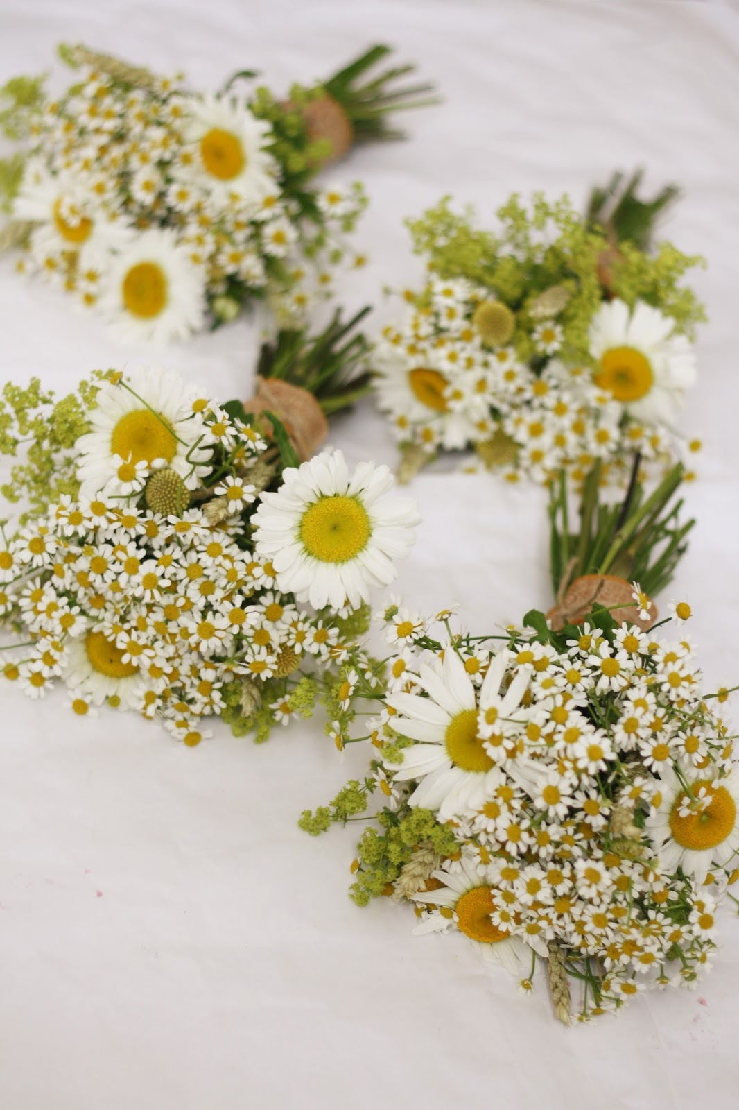 The Blossom Tree Daisy Wedding Bouquets