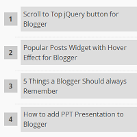 Membuat Widget Popular Post V2 di Blog