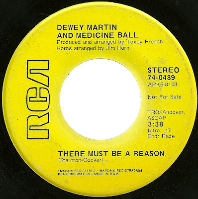 Dewey Martin and Medicine Ball - There Must Be A Reason