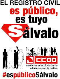 No a la privatización del Registro Civil